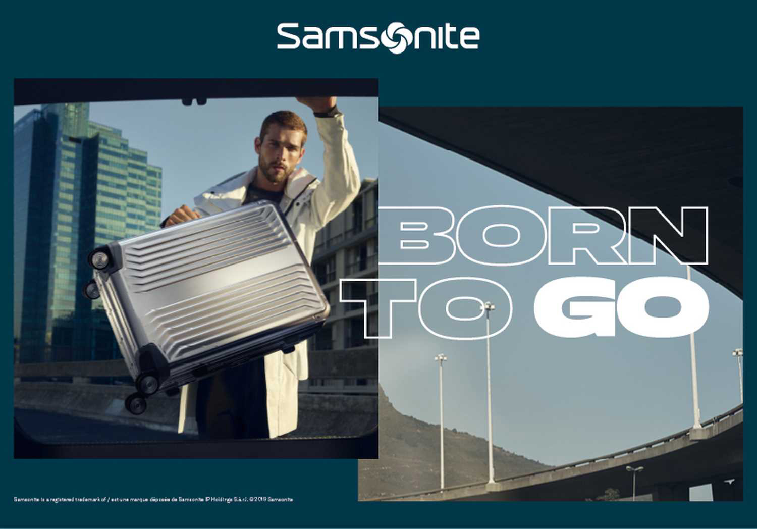 Samsonite Alu Lite Box - Born to go